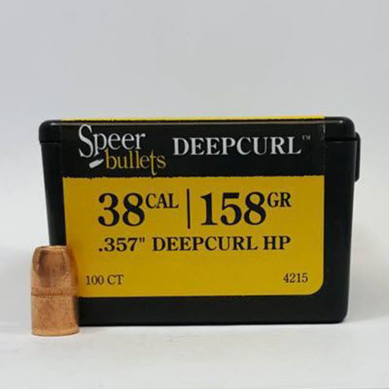 38 Caliber Bullets 158 DC HP - Speer
