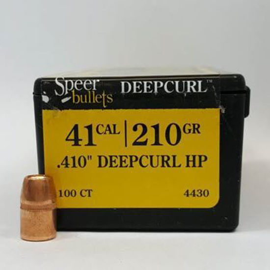 41 Caliber Bullets For Sale 210 DC HP - Speer
