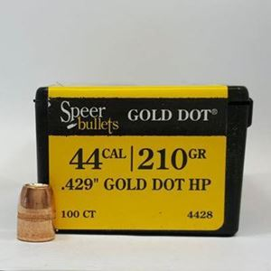 44 Caliber Bullets For Sale 210 GD HP - Speer