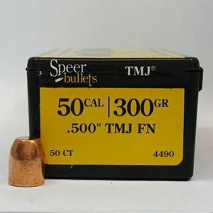 50 Caliber Bullets For Sale 300 TMJ FN - Speer