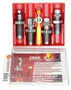 Carbide Die Set 45 Colt 4 Die - Lee