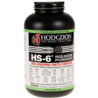Powder Hodgdon HS6 1 lb - PICKUP ONLY/NOT SHIPPED