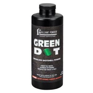 Powder Alliant Green Dot 1 lb - PICKUP ONLY/NOT SHIPPED
