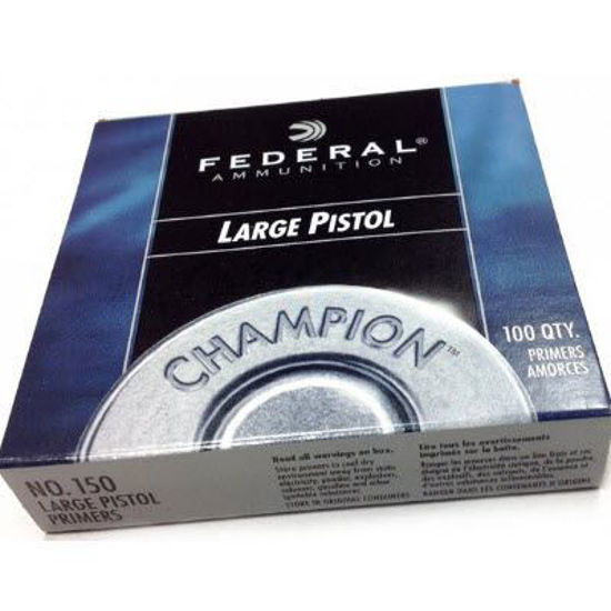 Large Pistol Primers Federal 100pk