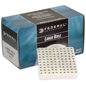 Large Rifle Primers Federal 100pk