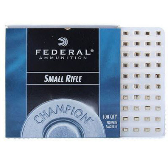 Small Rifle Primers Federal 100pk