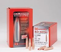 6.5mm Bullets 140 grain (.264) ELD-M Hornady 100pk