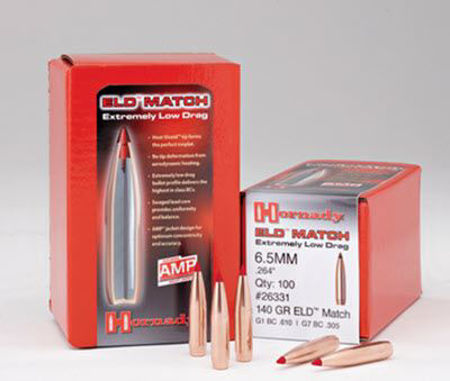Picture for category 6.5mm Caliber (.264) Bullets