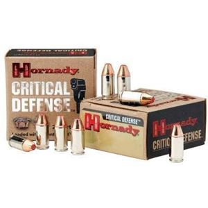 Hornady  45 ACP 185Grain FTX Critical Defense Ammo 20bx