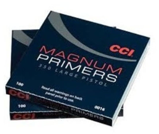 Large Pistol Primers CCI MAGNUM