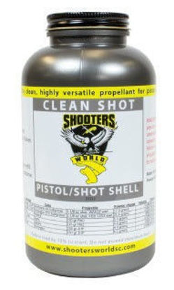 Shooters World Clean Shot Smokeless Powder 5lb