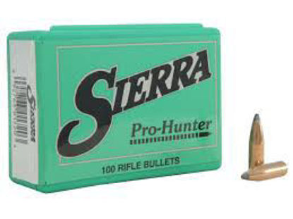 6.5/264 Caliber Bullets 120 gr SP Sierra Pro Hunter 100pk