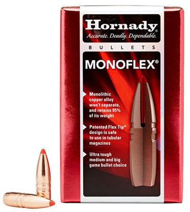 45-70 Caliber Bullets 250 grain MonoFlex Hornady