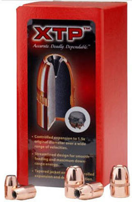 45 Caliber Bullets 185 grain HP Hornady XTP  Pk  100