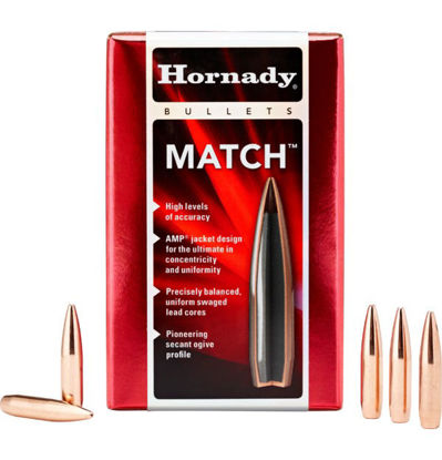 Hornady 6.5mm Bullets 123 HPBT Match for Sale