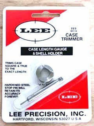 Case Length Gauge and Holder 338 Federal - Lee