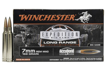 Winchester S7LR Expedition 7mm Remington Magnum 168 Grain Polymer Tip Ammunition