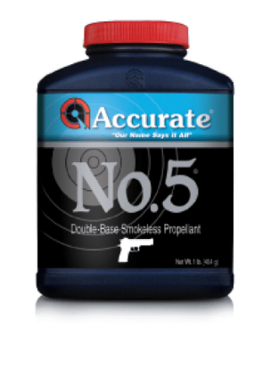 Powder Accurate No. 5- 1 lb - PICKUP ONLY/NOT SHIPPED