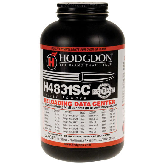 Powder Hodgdon H4831SC 1 lb | *NOT SHIPPED - STORE PICK UP ONLY*  LIMIT 1c