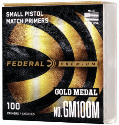 Primers Pistol Small  MATCH Federal pk/100 | US Reloading Supply